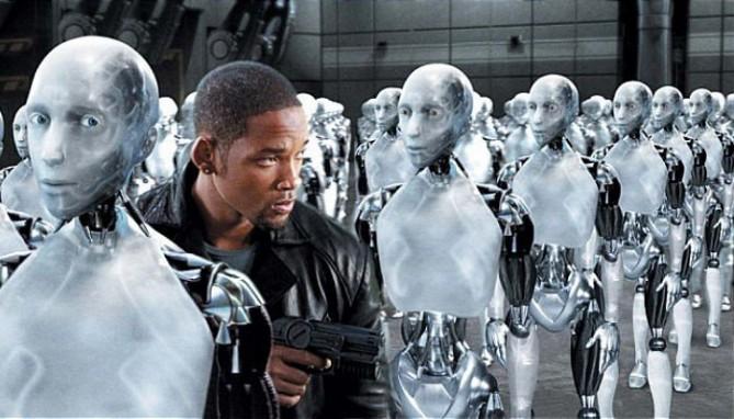 연구 결과 AI는 인간의 성이나 인종에 편향적인 성향마저 학습하는 것으로 나타났습니다. 영화 아이로봇 중 한 장면 – 네이버 영화